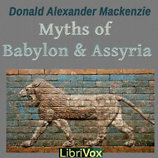Myths and Legends of Babylon and Assyria - Audio Books - on a CD Rom