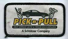 "Pick N Pull employee advertising employee patch ""A Schnitzer Co"""