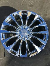"Infiniti QX56 QX80 Chrome OEM Rim 22"" New Genuine 73770 2016 14 Spoke Original"