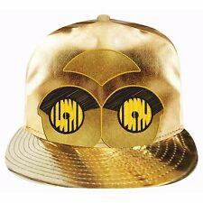 122677 C3PO GOLD PEAK CAP ADULTS STAR WARS CHARACTER