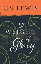The Weight of Glory by C. S. Lewis, (Paperback), HarperOne , New, Free Shipping