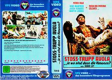 """VHS - """" Stosstrupp AVOLA """" (1970) - Nino Manfredi - Peter Falk - VPS"""