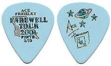 KISS ACE FREHLEY PERTH 29/3/2001 GUITAR PICK ONLY 44 WORLDWIDE