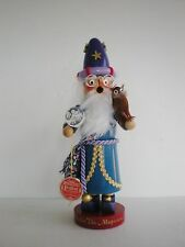 "Steinbach Nutcracker LTD Edit ""Merlin The Magician"" Smoker 1587/7500 Box S 830"