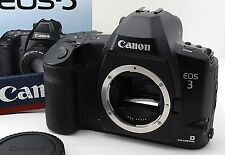 【MINT!!!】 Canon EOS-3 EOS 3 35mm SLR Film Camera Body w/Strap,Manual From Japan