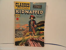 Classics Illustrated # 46 Kidnapped 1st Edition Good Condition