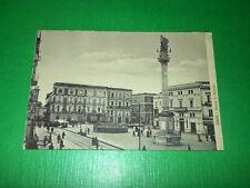 Cartolina Lecce - Piazza S. Oronzo 1910 ca