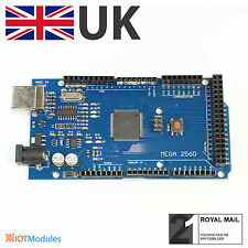 New Arduino Compatible Mega 2560 R3 ATmega2560 16AU Module CH340G, UK Seller