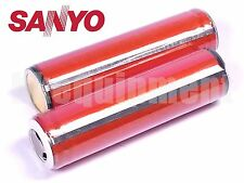 Sanyo UR18650FM 18650 2600 mAh Li-ion 3.7v Rechargeable Protected PCB Battery x2