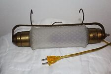 VINTAGE READING LAMP/ LIGHT for Headboard,Picture,Art,Piano/ Art Deco Frosted