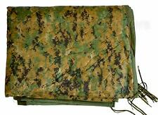 USMC Woodland Digital MARPAT Wet Weather PONCHO LINER Woobie Blanket US VGC