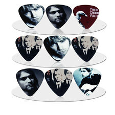 10pcs 0.71mm Rock Band Nirvana Guitar Picks Plectrums Printed Both Sides