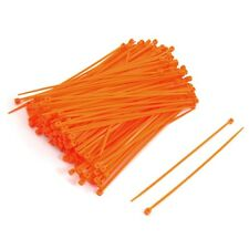 Cable Ties 4.8mm x 200mm Nylon Tie-Wrap Orange   !! Pack of 1000 units !!