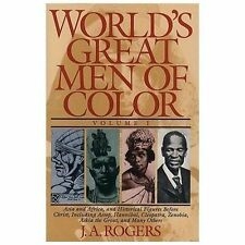World's Great Men of Color Vol. 1 by J. A. Rogers (1996, Paperback)