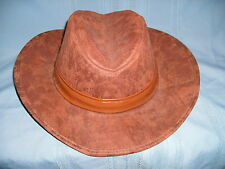 Cowboy Fashion Brown Hat Banded Raiders of Lost Ark Type