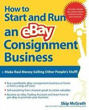 How to Start and Run an eBay Consignment Business McGrath, Skip Paperback