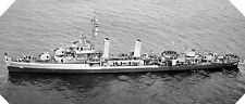 6x4 Gloss Photo wwAE4 Normandy Naval Photo USS Endicott
