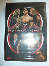 WWE Backlash 2006 DVD pro wrestling PPV event: John Cena Triple H The Edge NEW!!