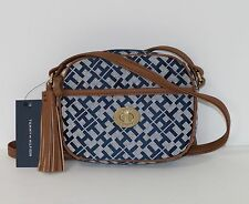 New Tommy Hilfiger Crossbody Shoulder Bag Purse Blue Multi NWT