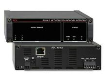 RDL RU-NL2 Network to Line Level Interface/Dante In/2 Balanced Line Out