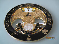 Masonic - 32nd Degree Scottish Rite car emblem