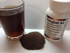 "TONGKAT ALI 200:1 EXTRACT Crystal POWDER  ""LONGJACK"" ""PASAK BUMI"""