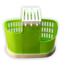 Sink Kitchen Caddy Storage Sponge Soap Utensils Holder