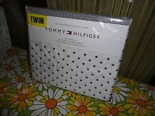 TOMMY HILFIGER NAVY BLUE STARS (3PC) EXTRA LONG TWIN SHEET SET BOYS