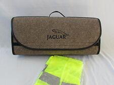 Jaguar Car Boot Tidy BEIGE Organiser -  Fits all Models