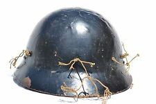 JAPANESE HELMET AND PARTIAL CAMOUFLAGE NET JAPAN WWII NIPPON WW2