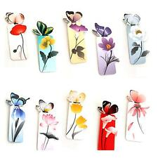 Pretty 3X Butterfly Shape Exquisite Mini Bookmark Stationery Reading Accessories
