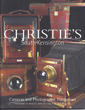 CHRISTIE'S CAMERAS LEICA NIKON CANON ROLLEI ZEISS IKON Auction Catalog 2000