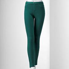 SIMPLY VERA VERA WANG chino legging size M #BOTTLE GREEN @ $17.99 & $6.99 SH