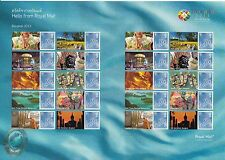 GB 2013 MNH Bangkok Thailand World Stamp Exhibition 20v Sheet Buddha Monk