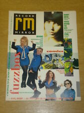 RECORD MIRROR 1989 JUNE 3 FUZZBOX MANDY SMITH STING