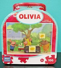 Olivia the Pig Lunch box Puzzle 100 pc. New Sealed