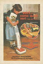 X7708 Lucidatrice - Giocattoli Marchesini - Pubblicità 1978 - Vintage Advert