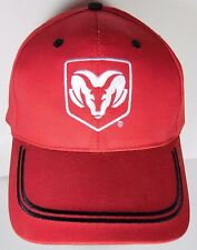 NEW RED BLACK TRIM DODGE RAM TRUCK CAR AUTOMOTIVE ADVERTISING ADJUSTABLE HAT CAP