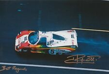 Jean Ragnotti Hand Signed Photo 12x8 Le Mans