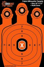 Silhouette Targets for Shooting Firearms Tactical High-Visibil...