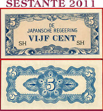 NETHERLANDS INDIES -  5 CENTS nd 1942 Japanese Occupation - P 120b - FDS / UNC