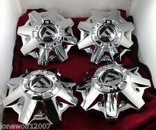 Fuel WheelsChrome Custom Wheel Center Caps- 1002-53 / M-721 /M-547 Set of Four