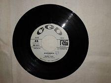 """Bruno Lauzi / Margherita – Disco Vinile 45 Giri 7"""" Edizione Promo Juke Box"""