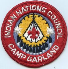 1970's Camp Garland Indian Nations Council