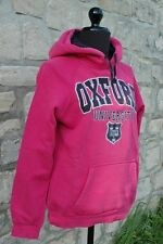 Sweat à capuche Oxford University  Fuchsia Taille S