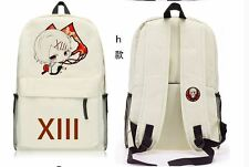 japan anime Tokyo Ghoul Backpack canvas School Bag Computer bag H style