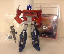 Transformers Universe deluxe Optimus Prime and DMY Studios D-01 G1 upgrade kit