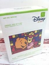 New Winnie The Pooh Latch Hook Rug Kit Caron Disney Home Hundred Acre Hug