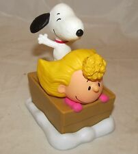 McDonalds Toy Sally and Snoopy Peanuts Movie 2015 Figure Figurine Cake Topper