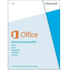 Office 2013 Home and Business Produkt Key Vollversion